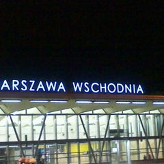 Photo taken at Warszawa Wschodnia by Konrad L. on 10/12/2011