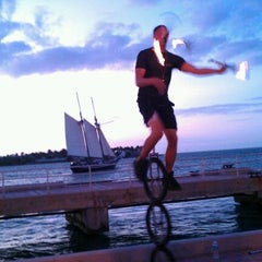 Photo taken at Mallory Square by Michelle K. on 11/25/2011