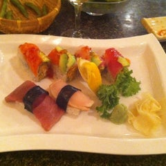 Photo taken at Miyabi by Lindsay D. on 10/3/2011