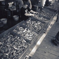 Photo taken at Maine Avenue Fish Market by Sheri M. on 4/15/2012