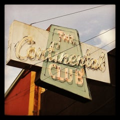 Photo taken at Continental Club by Cary S. on 3/13/2012