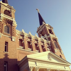 Photo taken at St. Aloysius Church by Justin on 7/26/2012