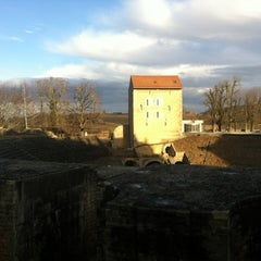 Photo taken at Théatre romain by Maria on 2/19/2012