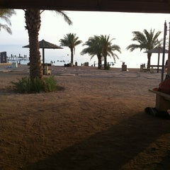 Photo taken at South Beach - Aqaba by Abd Z. on 7/10/2012