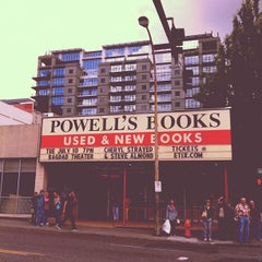 Photo taken at Powell's City of Books by Cindy T. on 6/26/2012