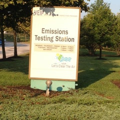Photo taken at Vehicle Emissions Inspection Program (VEIP) Station by Matthew C. on 8/18/2012