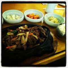 Photo taken at Saya Korean and Japanese Restaurant by Vanessa S. on 7/21/2012