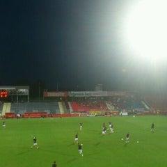 Photo taken at BSFZ Arena - Südstadt Stadion - Trenkwalder Arena by Radosław Ż. on 8/2/2012