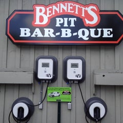 Photo taken at Bennett's Pit Bar-B-Que by Lorri E. on 5/20/2012