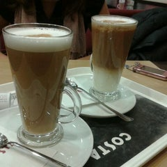 Photo taken at Costa Coffee by Julcsi N. on 2/28/2012