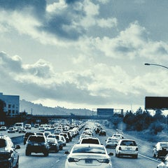 Photo taken at US-101 (Bayshore Fwy) by Pete P. on 4/14/2012