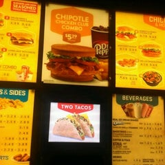 Photo taken at Jack in the Box by Sam on 5/23/2012
