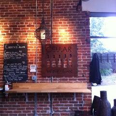 Photo taken at Cellar Wine Bar by Rachel on 8/2/2012