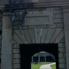 Photo taken at Fort Morgan State Historic Site by Paul J S. on 3/28/2012