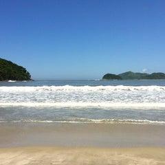 Photo taken at Barra do Sahy by Fabio S. on 3/5/2012