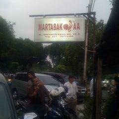 Photo taken at Martabak AA by Eka yudha F. on 4/28/2012