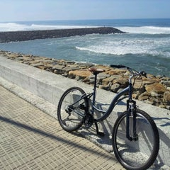 Photo taken at Praia de Cortegaça by Gilberto P. on 3/11/2012