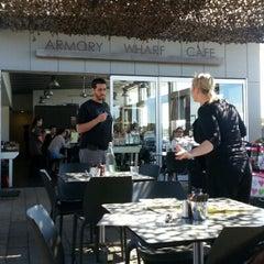 Photo taken at Armory Wharf Café by Nek O. on 9/9/2012
