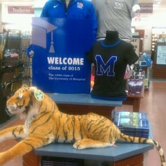 Photo taken at University of Memphis Bookstore by Everett C. on 8/25/2011