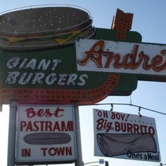 Photo taken at Andre's Drive In by JG on 1/25/2011