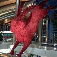 Photo taken at Central Terminal B / Landside by K R. on 1/17/2012