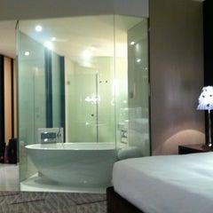 Photo taken at Kempinski Grand Hotel by Guclu K. on 10/31/2011