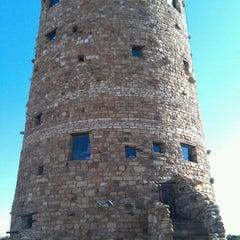Photo taken at Desert View Watchtower by Jason G. on 5/16/2012