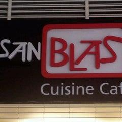 Photo taken at San Blas Cuisine Café by Alberto E. on 4/27/2012