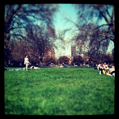 Photo taken at Kennington Park by VinZ on 4/10/2011