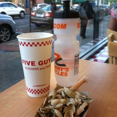 Photo taken at Five Guys by Bob T. on 6/27/2012
