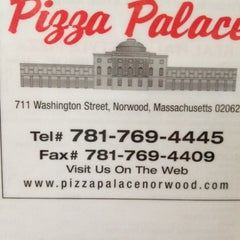 Photo taken at Pizza Palace by George C. on 7/23/2012