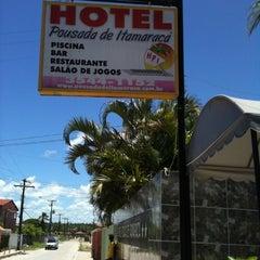 Photo taken at Hotel Pousada de Itamaracá by Rosane F. on 3/3/2012