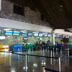 Photo taken at Punta Cana International Airport (PUJ) by Johnnie W. on 9/3/2012