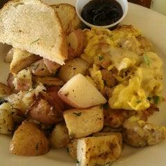 Photo taken at Café Bernardo Midtown by Lisa H. on 8/4/2012