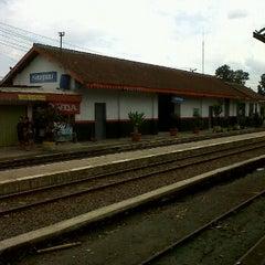 Photo taken at Stasiun Parungkuda by Rudi S. D. on 12/26/2011