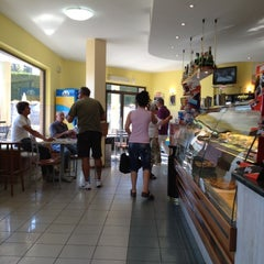 Photo taken at Bar Costalpino by kazu on 8/20/2012