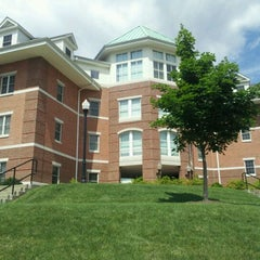 Photo taken at Residence Hall E at Cal U by Greg B. on 6/30/2011