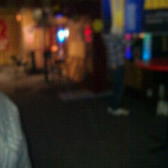 Photo taken at Dingers Sports Bar by Britney W. on 2/16/2012
