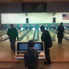 Photo taken at Taylor Lanes by Danielle D. on 1/8/2012