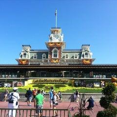 Photo taken at Walt Disney World Railroad - Main Street Station by S3ood . on 9/3/2012
