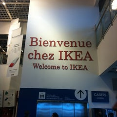 Photo taken at IKEA by Émilie D. on 12/27/2011
