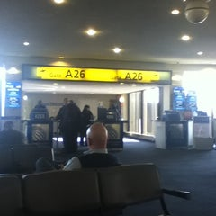 Photo taken at Gate A26 by Edward G. on 2/8/2011