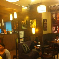 Photo taken at Bo's Coffee by James Z. on 7/6/2012