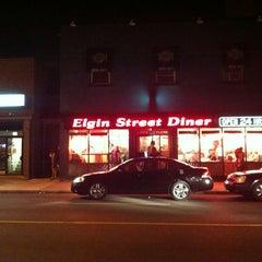 Photo taken at Elgin Street Diner by Oli S. on 8/25/2012