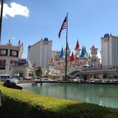 Photo taken at Excalibur Hotel & Casino by Adam M. on 7/24/2012