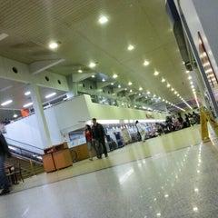 Photo taken at Aeropuerto Internacional Viru Viru (VVI) by Luis Eduardo R. on 7/10/2012