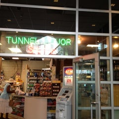 Photo taken at Tunnel Liquor Shoppe by Vikki W. on 7/17/2012