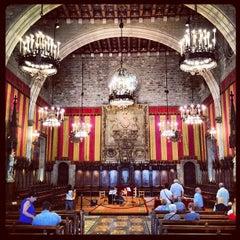 Photo taken at Ajuntament de Barcelona by Alexandre U. on 6/7/2012