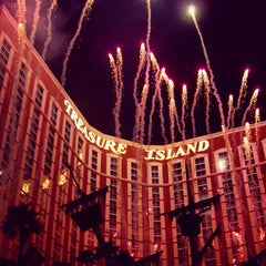 Photo taken at Treasure Island - TI Hotel & Casino by Maxwell H. on 7/24/2012