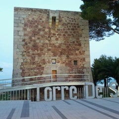 Photo taken at Playa Torre Sant Vicent by Pierre C. on 7/4/2012